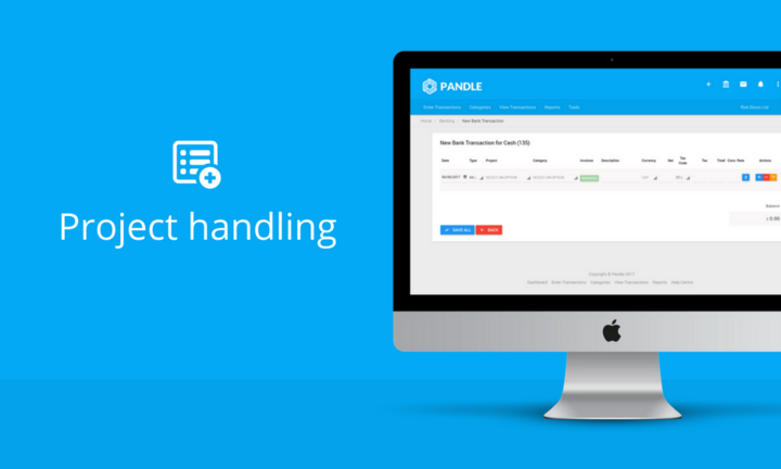 Project Handling in Pandle