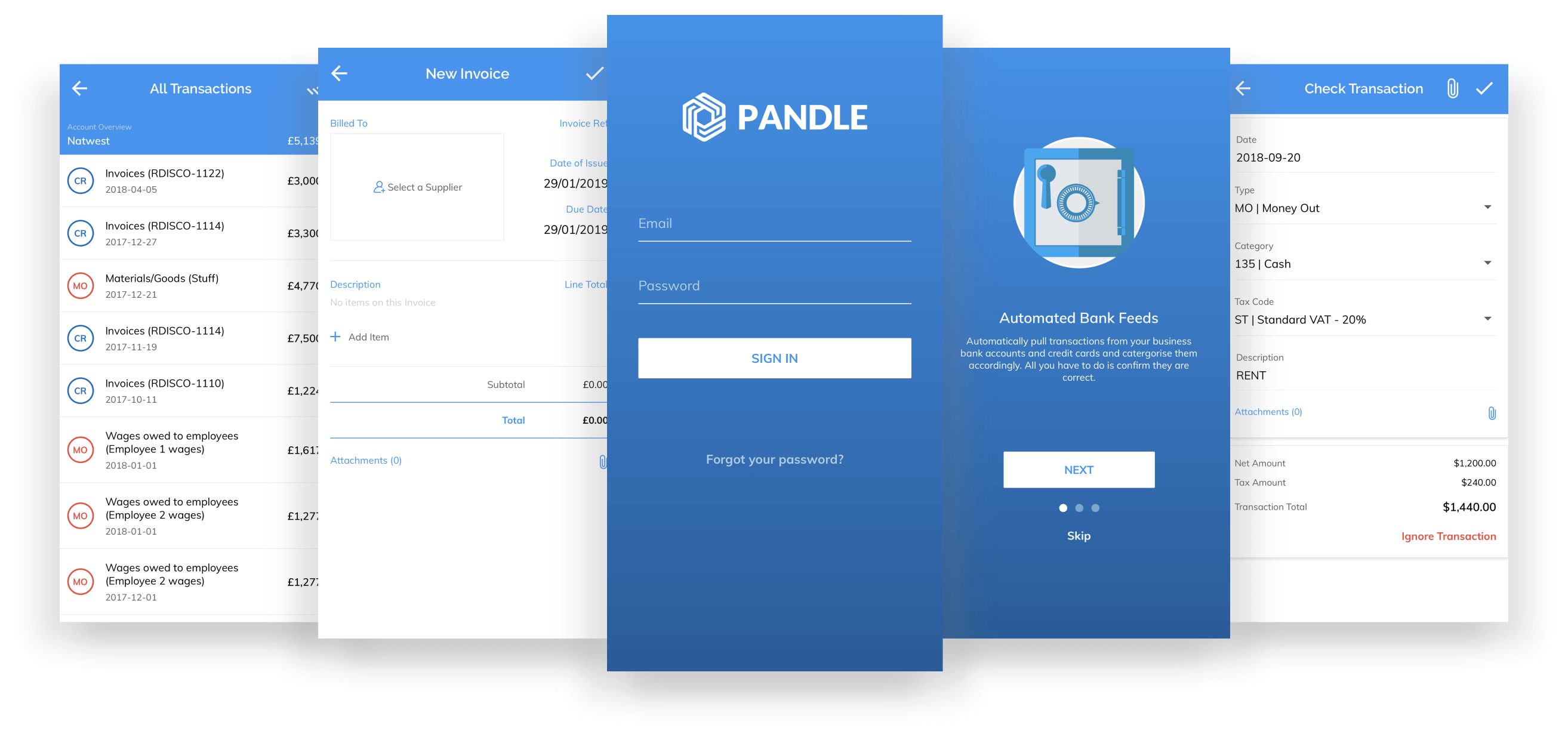 Pandle Mobile app