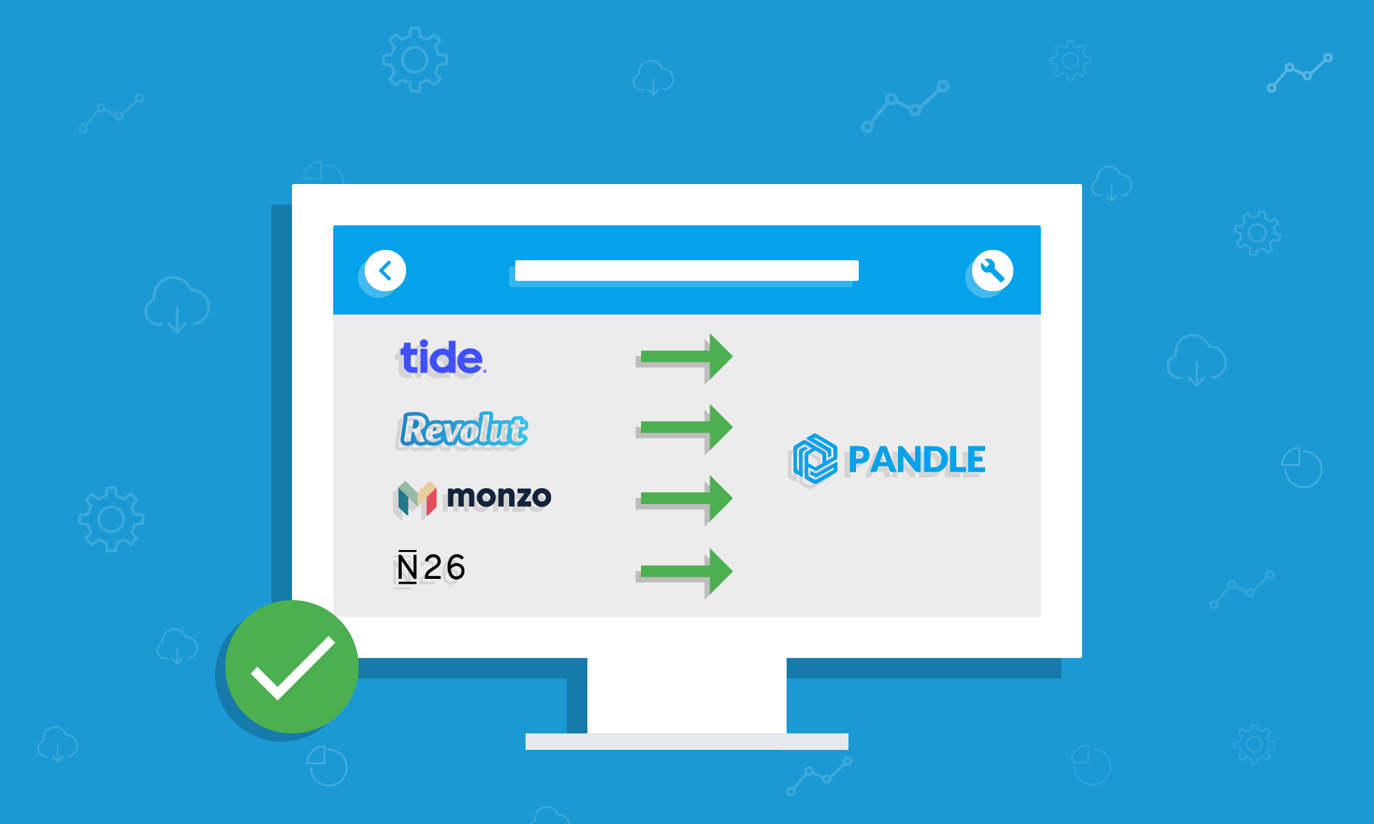 Pandle Update: Bank Feeds for Tide, Monzo, Revolut and N26 Live