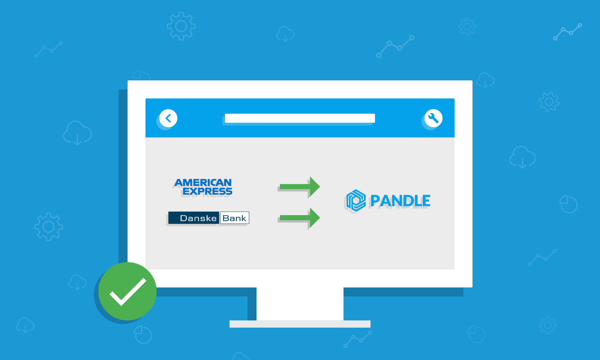 Pandle Launches Bank Feeds for American Express and Danske Bank