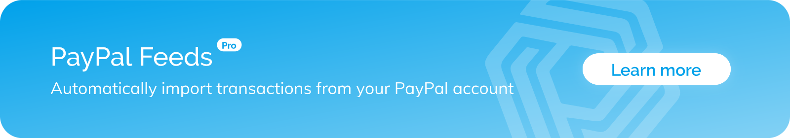 Automated PayPal Feeds