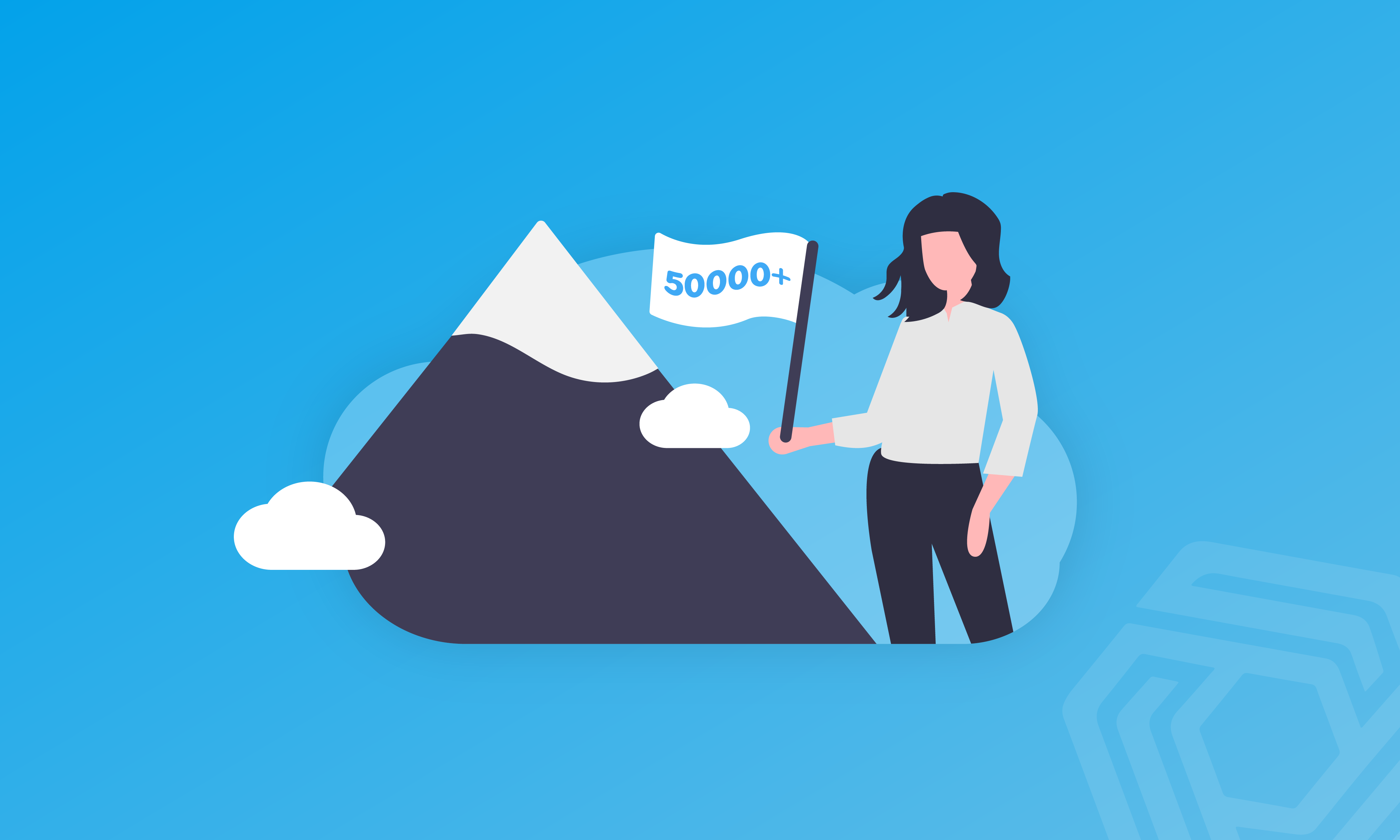 We're 1,500 Everests Tall, With 50,000 Pandle Users